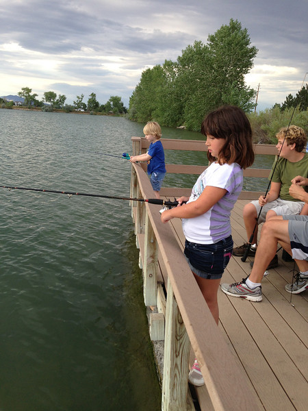 Fishing with the Dawsons at Coot Lake