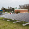 131030 Solar Store JOED VIERA/STAFF PHOTOGRAPHER Lockport, NY- The new solar array system generate power outside of Crosby's Wednesday Oct 30th, 2013.