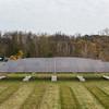 131030 Solar Store JOED VIERA/STAFF PHOTOGRAPHER Lockport, NY- The new solar array system generates power outside of Crosby's Wednesday Oct 30th, 2013.
