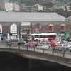 Bus Eireann in evening rush hour traffic in Cork.