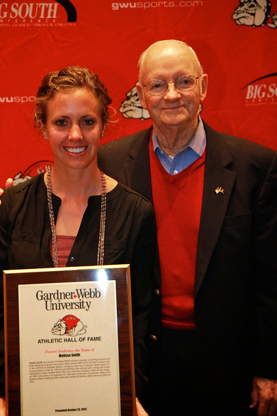 Athletic Hall of Fame Banquet; Fall 2013.