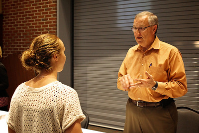 Gardner-Webb's Office of Career Development presents Career Networking 101 to coach students on how to network with perspective employers.