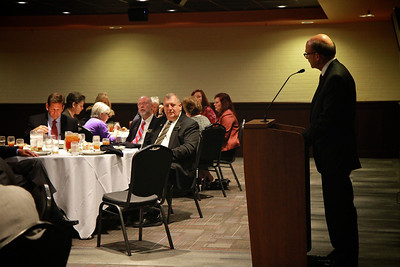 Luncheon in honor of Donald Caudill to celebrate the naming of the Gardner-Webb University's Godbold School of Business: Center for Ethics & Entrepreneurship.