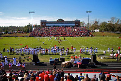 Gardner-Webb Homecoming game; Fall 2013.