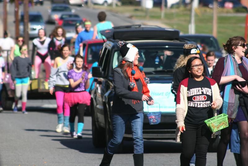 Gardner-Webb University's Homecoming Parade 2013 in Boiling Springs, NC.