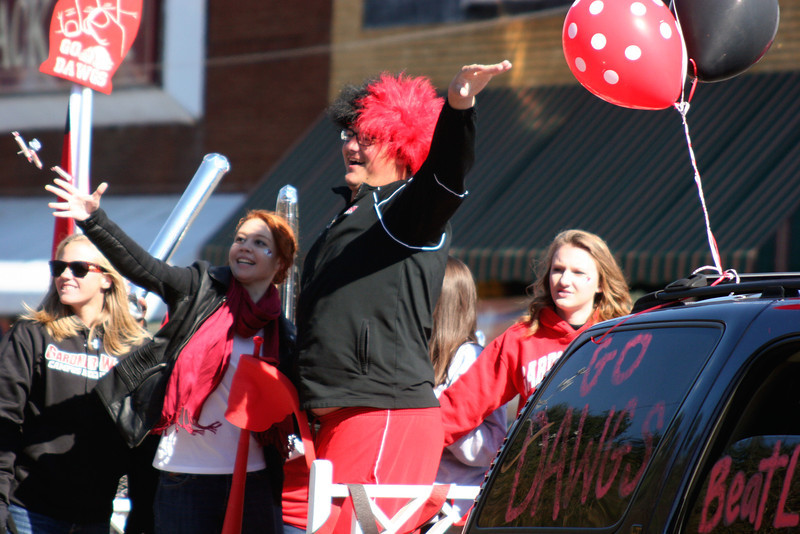 Gardner-Webb University Homecoming Parade 2013 in Boiling Springs, NC.