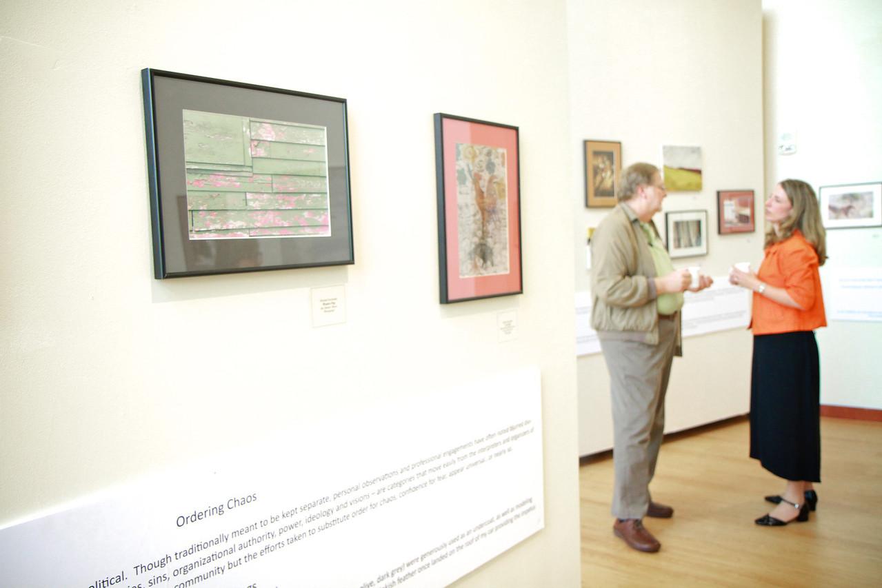 Michael Kuchinsky Art Show in Tucker Student Center