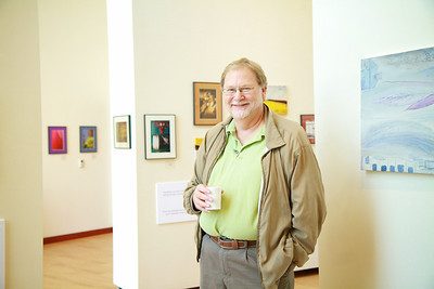 Michael Kuchinsky Art Show in Tucker Student Center