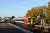 24 October 2013 :: 158889 arrives into Basingstoke station with 2T28 the 0805 from Portsmouth Harbour to Basingstoke