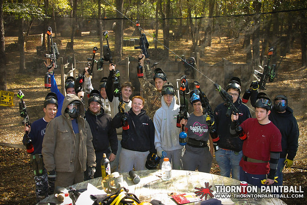 SCUDLY Paintball Squad, Rayer, & Mike's Bachelor Party
