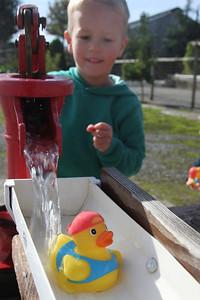 Connor's favorite: pump a duck