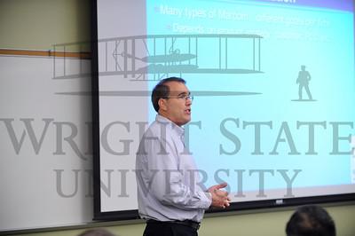 12399 Dr Kendall Goodrich teaching in class 10-1-13