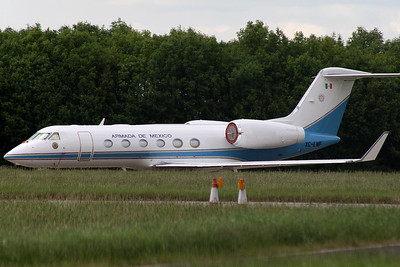 Gulfstream 450 XC-LMF Mexican Navy at Stansted on 16th June