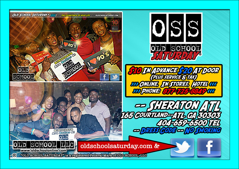 """Jan-11-2014 >>>> Our first event of 2014 will be at The Sheraton. TWO Ballrooms with Tron and LV delivering """"The Soundtrack Of Your Life""""---all 80s and 90s classics. Tickets, VIP Tables, and more: <a href=""""http://www.oldschoolsaturday.com"""">http://www.oldschoolsaturday.com</a> --- Follow us on Twitter, Facebook, Vimeo, and SoundScan"""