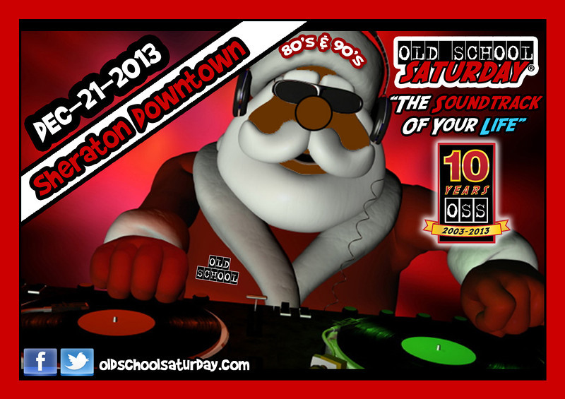 "LAST event of our year-long anniversary celebration.  Dec-21-2013 @ Sheraton Atlanta Downtown.  Info, tickets, and VIP tables:   <a href=""http://www.oldschoolsaturday.com"">http://www.oldschoolsaturday.com</a>"
