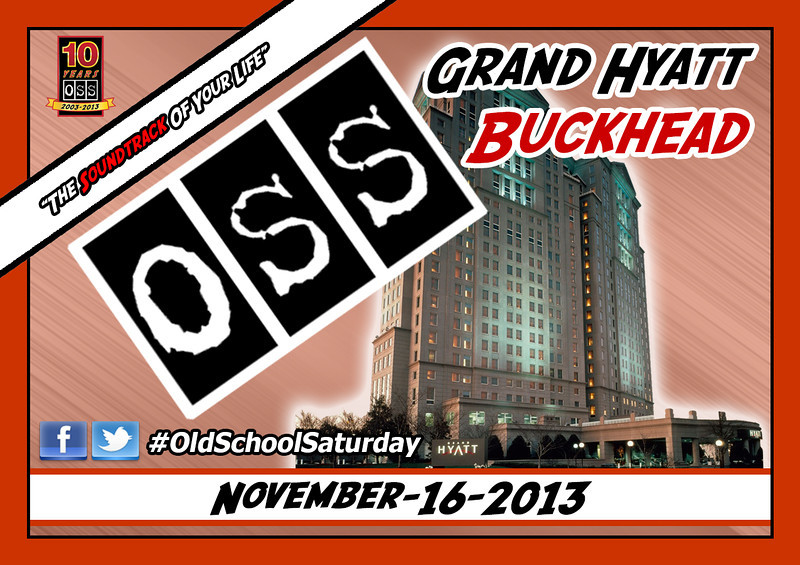 "November's event will be BACK IN BUCKHEAD.  Limited $10 tickets.  See our site for full information.   <a href=""http://www.oldschoolsaturday.com"">http://www.oldschoolsaturday.com</a>"