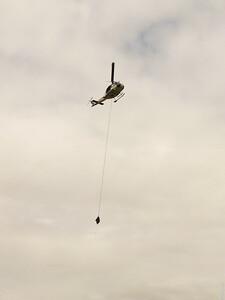 Snohawk 10 in flight
