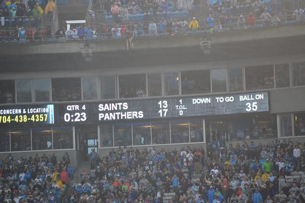 Panthers vs. Saints December 22 2013