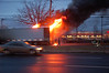 Paramus 12-6-13 : Paramus working tractor trailer fire on Route 17 north on 12-6-13.