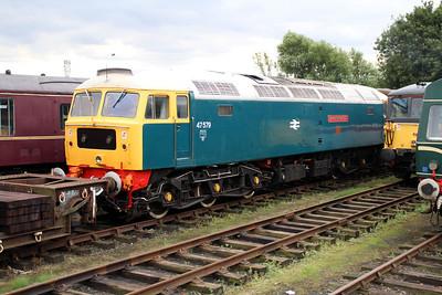 47579 'James Knightall GC' at Dereham Sidings MNR.