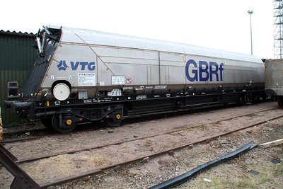 IIA 83706955311-8 Biomass Hopper unusually at Peterborough GBRF.
