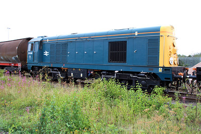 20096 in BR Blue livery at Peterboro GBRF.