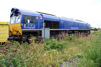New to GB 66751 ex Beacon Rail Leasing Loco at Peterboro GBRF.