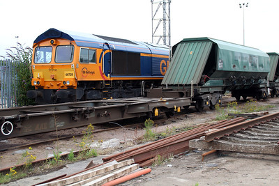 66729 'Derby County' at Peterboro GBRF.