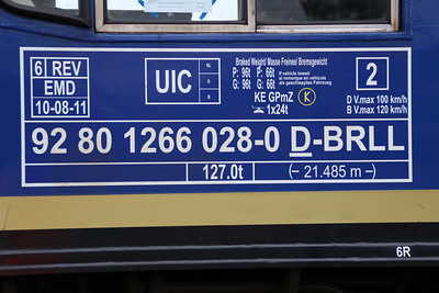 New to GB 66751 Euro number panel.