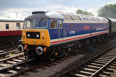 47596 'Aldeburgh Festival' at Dereham sidings MNR.
