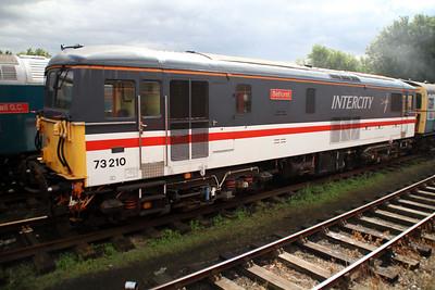 73210 'Selhurst' at Dereham sidings MNR.