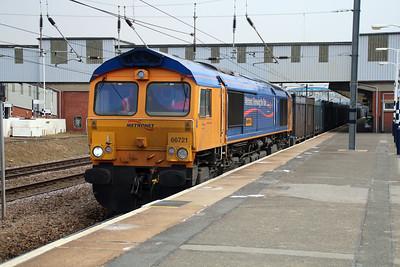 66721 1624/4E19 Mountfield-West Burton.