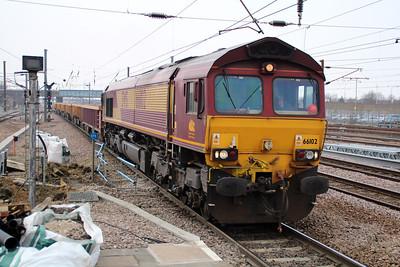 66102 1459/6G26 Peterboro-Whitemoor.