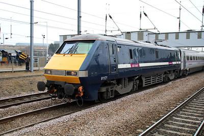 91121_82226 1145 Kings X-Edinburgh East Coast Service.