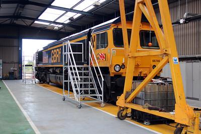 66746 GBRF Depot Peterborough 25/05/13.