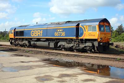 66736 GBRF Depot Peterborough 25/05/13.