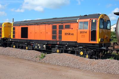 20314 GBRF Depot Peterborough 25/05/13.
