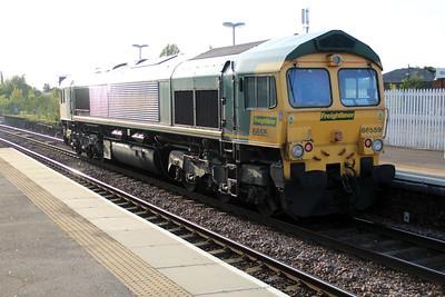 66559 1914/0y72 Bardon Hill-Whitemoor passing March 25/05/13.