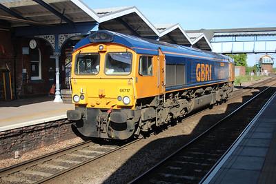 66717 1725/0E05 Felixstowe-Whitemoor passing March 25/05/13.