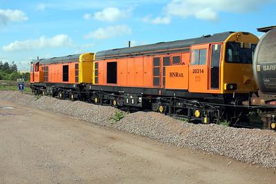 20314_20311 GBRF Depot Peterborough 25/05/13.