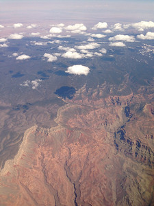 Grand Canyon from 30,000 feet