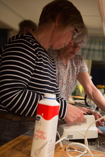 Under tiden hade kökspatrullen fått ihop kvällens middag som skulle avnjutas efter vårt planeringsmöte.