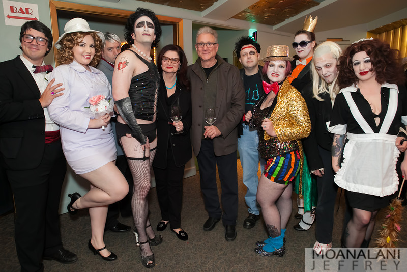 IMG_3759.jpg Karen Aldoroty, Neil Aldoroty (center) with Rocky Horror cast