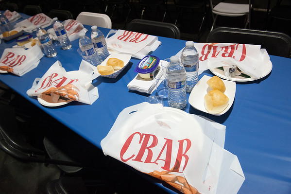 2013.12.12 The Guardsmen Tree Lot Crab Feed