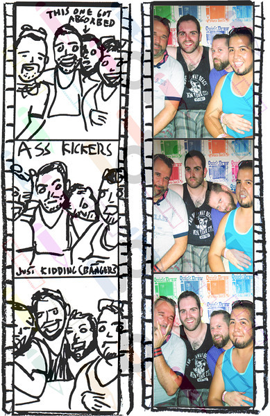 """<a href= """"http://quickdrawphotobooth.smugmug.com/Other/queerbomb/29676708_zzMM2D#!i=2550601296&k=L7z5M4r&lb=1&s=A"""" target=""""_blank""""> CLICK HERE TO BUY PRINTS</a><p> Then click on shopping cart at top of page."""