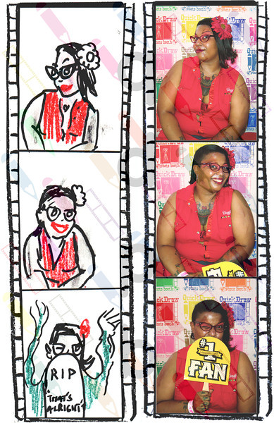 """<a href= """"http://quickdrawphotobooth.smugmug.com/Other/queerbomb/29676708_zzMM2D#!i=2550591059&k=RS27Q7p&lb=1&s=A"""" target=""""_blank""""> CLICK HERE TO BUY PRINTS</a><p> Then click on shopping cart at top of page."""