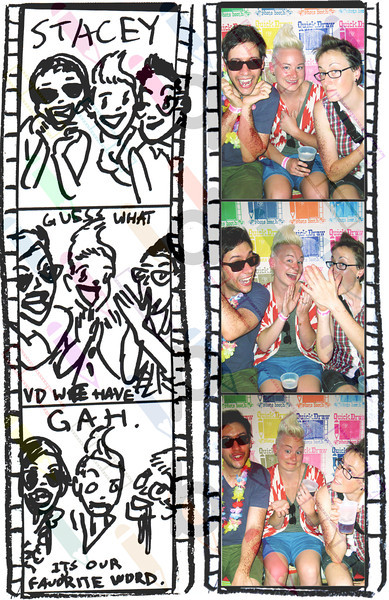 """<a href= """"http://quickdrawphotobooth.smugmug.com/Other/queerbomb/29676708_zzMM2D#!i=2550596565&k=WDkhNFx&lb=1&s=A"""" target=""""_blank""""> CLICK HERE TO BUY PRINTS</a><p> Then click on shopping cart at top of page."""