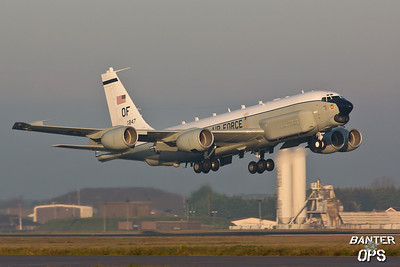 Boeing RC-135U 64-14847 55th Wing, Offutt AFB, NEBRASKA
