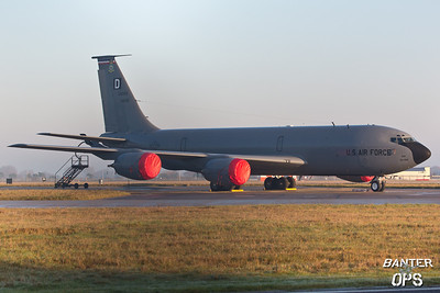 Boeing KC-135R 64-14830 100th ARW, RAF Mildenhall, UK