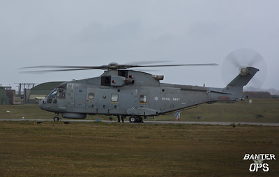 Merlin HM.1 ZH838 Royal Navy : 814 NAS, RNAS Culdrose.
